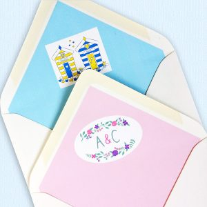 envelope liners for wedding invitations