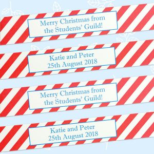 personalised paper chains for a wedding