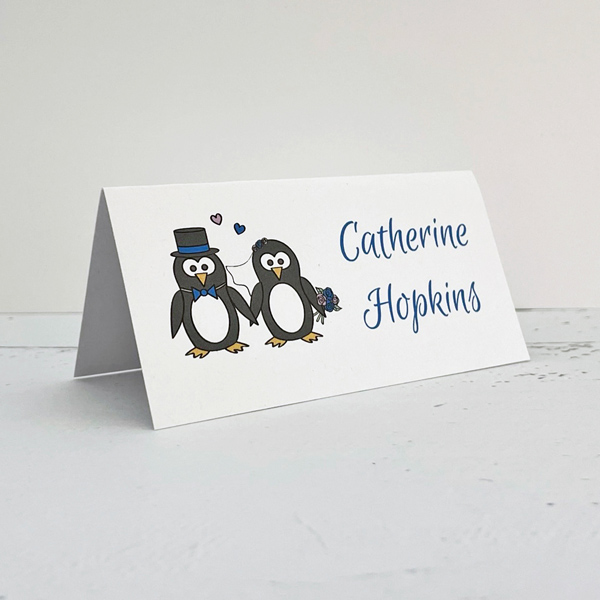 printed wedding place cards