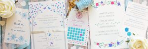 the leaf press wedding stationery
