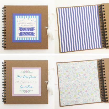 wedding guest book circus festival merry meadow designs