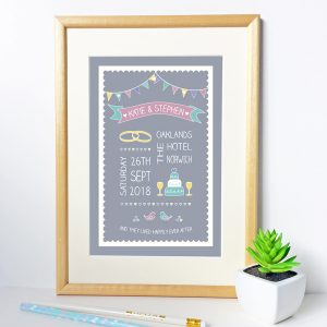 wedding gift prints
