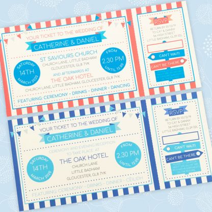 circus festival wedding tickets