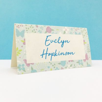 merry meadow place card
