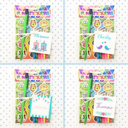 wedding activity packs for children