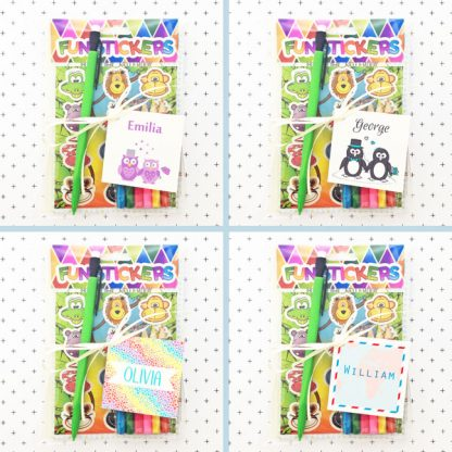 wedding activity packs for kids