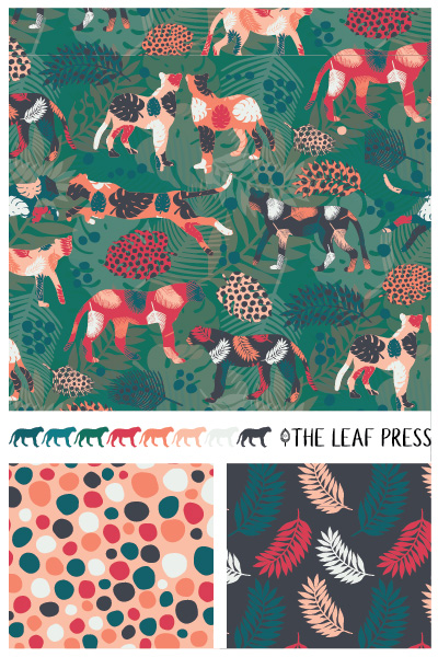 Jungle Japes by The Leaf Press