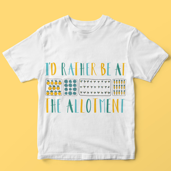 allotment tshirt