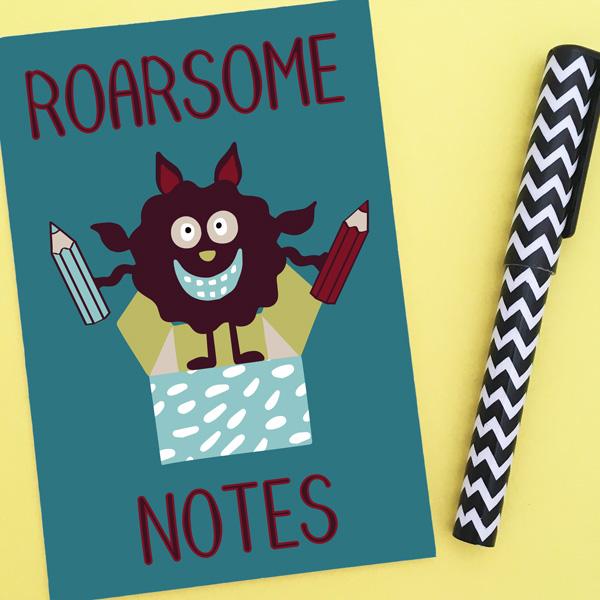monster notebook