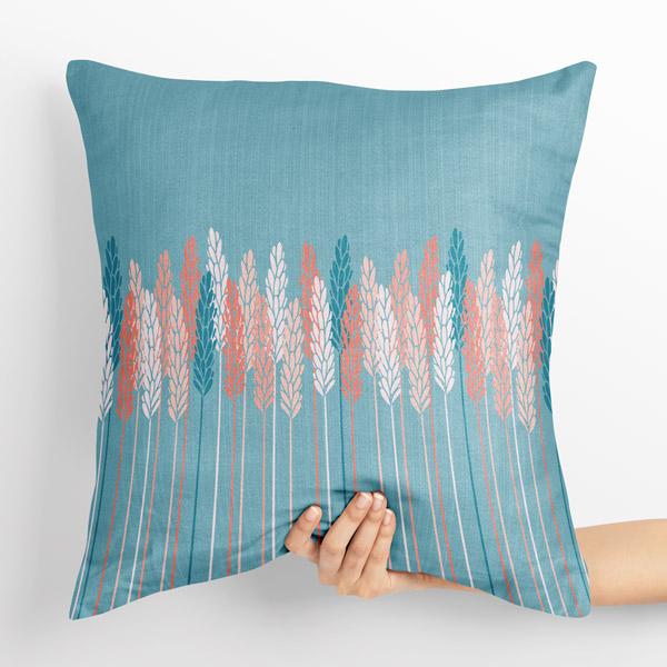 wheat stems cushion