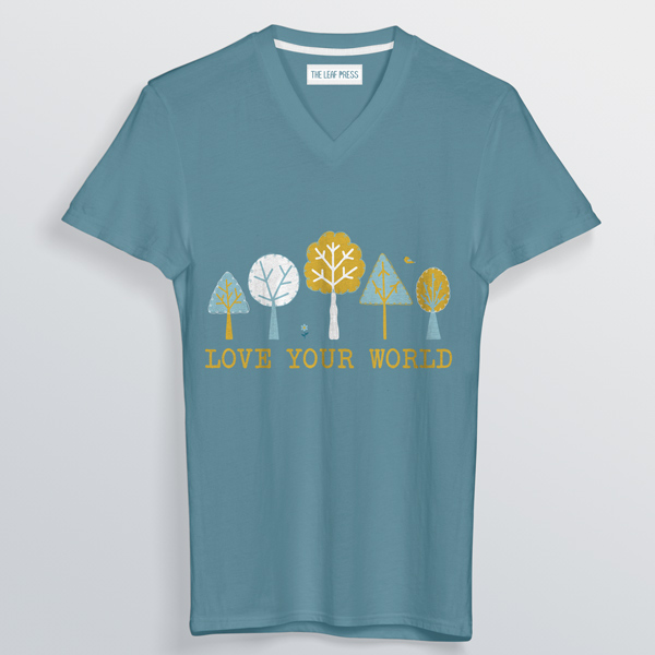 environmental trees tshirt