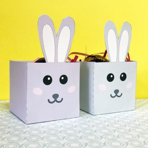 easter box template