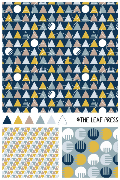 shape shifts by the leaf press