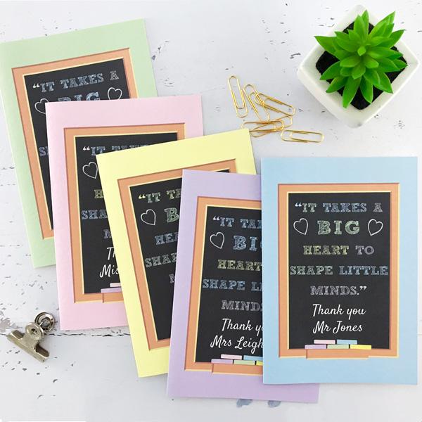 chalkboard design teacher notebook