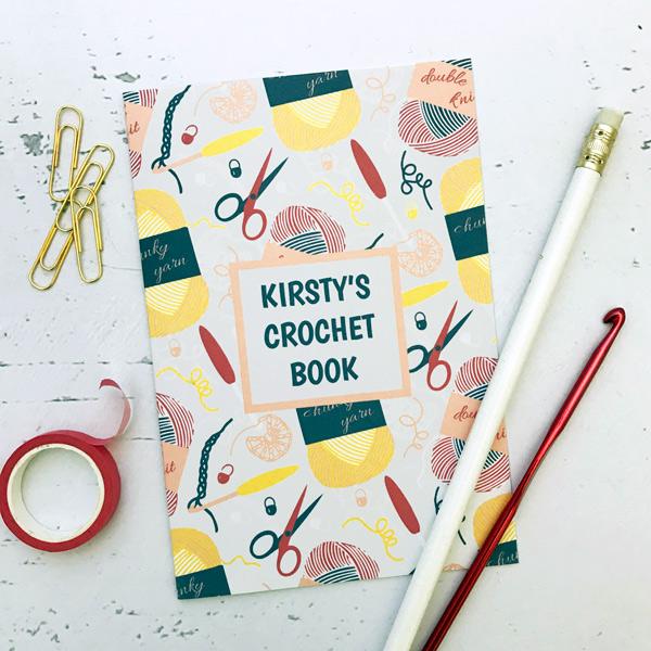 crochet design notebook