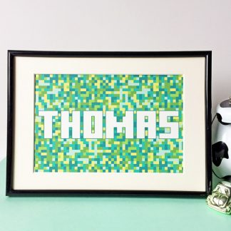 Minecraft name print picture