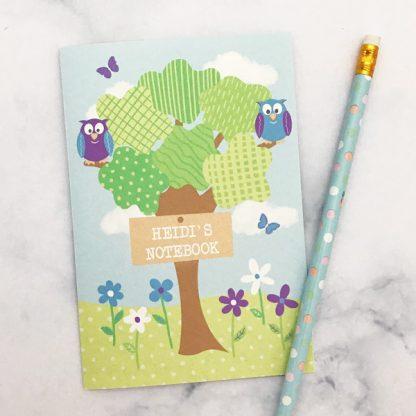 owl design notebook
