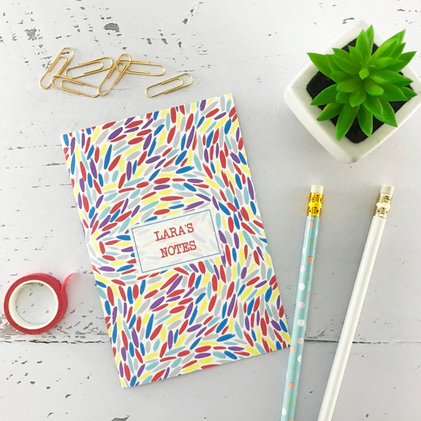 paint daubs pocket notebook