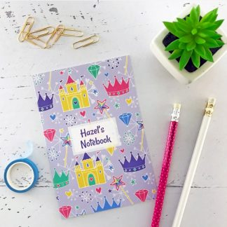 princess design notebook