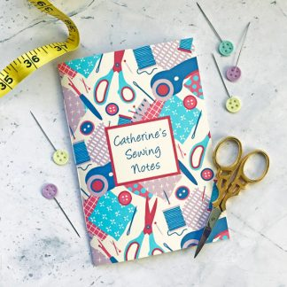 sewing design notebook