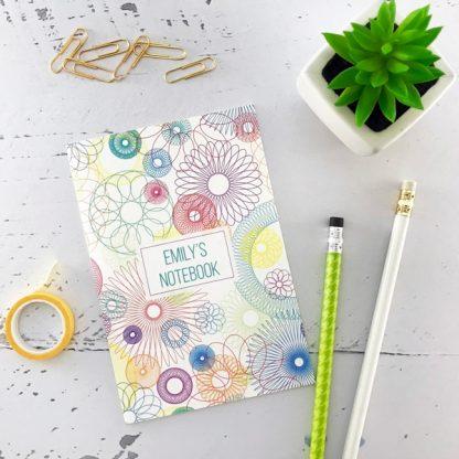 spirograph design notebook